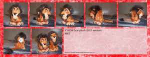 .: New 2011 WDW Scar plush :. by Dunkin-Prime