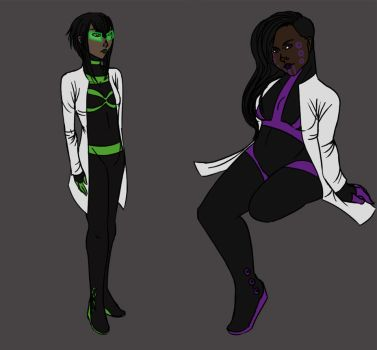 Rayhan and Tuthid Redesign by SirIsaac