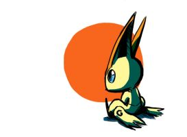 Victini by LiteracyScaresMe