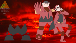 Team Magma Wallpaper by BattlePyramid