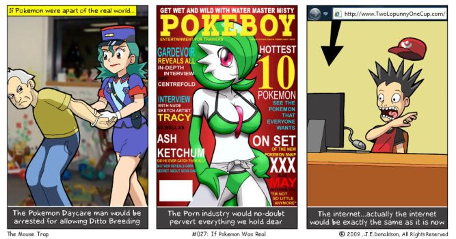 If Pokemon was Real by JamesDonaldson