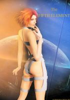 The Fifth Element- Leeloo by JavierMicheal