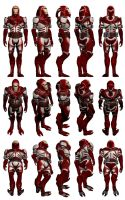 Mass Effect 3, Male Quarian Reference by Troodon80