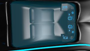 Tron Xenith Car Interior by Mikey-Spillers