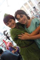 Peter and Wendy, friends forever by SlightlyIdentical