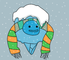 Frozen Person for Rico's Contest by Ask-The-Great-Kazaa