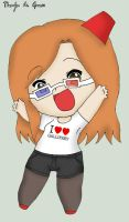 Chibi Whovian by lilith-lips