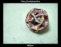 Starry Icosidodecahedron by wolbashi