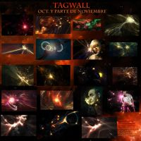 tagwall oct and nov by Elextremo