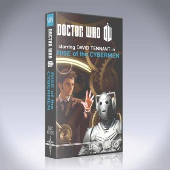 Rise of the Cybermen 80s VHS Mockup by Hisi79