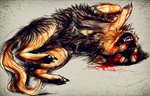 AT.:don't fuck with me:. by WhiteSpiritWolf
