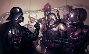 Bounty Hunters by ArtofTy
