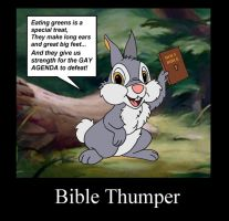 Bible Thumper by karcreat