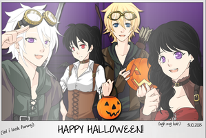 Happy Halloween! by littleshadow3