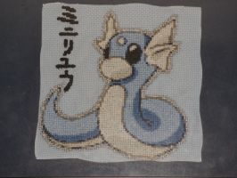 Dratini by VampireCow