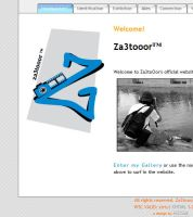 Za3tooor's website by mizzuae