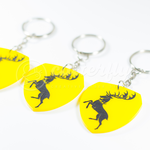 GOT Baratheon Keychain by Cutterfly by mAi2x-chan