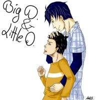 Big D and Little D by Makkikomori