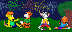 Fireworks of Summer by PuppyDawg1022