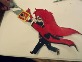 Grell Sutcliff Paper Child by shewhochaseshallows