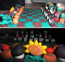 Plants vs. Zombies Chess by HappyWhite