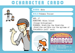 Nate : Pokemon Trainer Card by DrSomeone