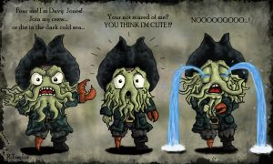 Little Davy Jones... Is Cute? by Ruth-Tay