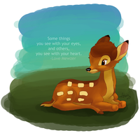 Bambi For Mew by DaggarHeart