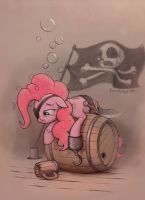 Pinkie Pirate Pie by Cannibalus