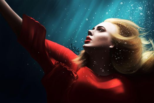 Adele from the Skyfall visuials by xzawes