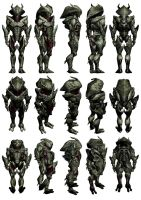 Mass Effect 3, Collector Captain Reference. by Troodon80