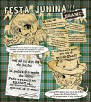 Cartaz Festa Junina - ESAMC by Ainon