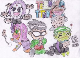 Tots In Technicolor by The-Great-Stash