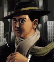 Fritz Lang by Helgezone