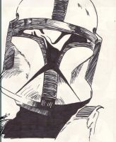 Sharpie'd Clone Trooper by Saffith