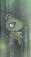 Day 721 - Celebi (END) by AutobotTesla