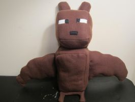 Minecraft Bat Mob Plush by colbyjackchz