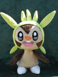 Cheery Chespin by PlushPrincess