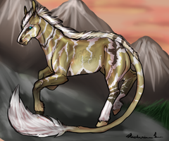 Wild Mountain equid entry by Novie-Kenari