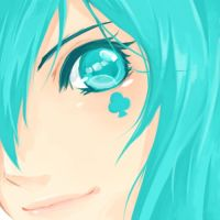 Miku Face by s-ser
