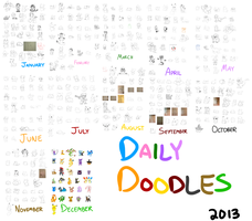 All Daily Doodles by Peeka13