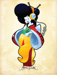 Comic-Con 2014 Radio Geisha by WarBrown