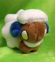 Shiny Whimsicott Palm Plush by GlacideaDay