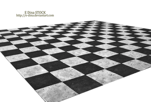 HQ PNG Stock Chessboard Floor by E-DinaPhotoArt