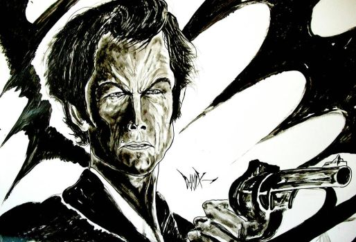 CLINT EASTWOOD by DAMIX by DAMIX-ART