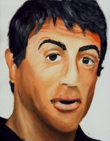 Sylvester Stallone by hippy-girl