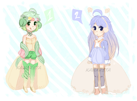 .:: Seasonal Cuties Adoptables { C L O S E D } ::. by Kawareta
