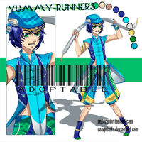 [OPEN] SET PRICE Adopt 'Yummy-runners' 03 by nyharu