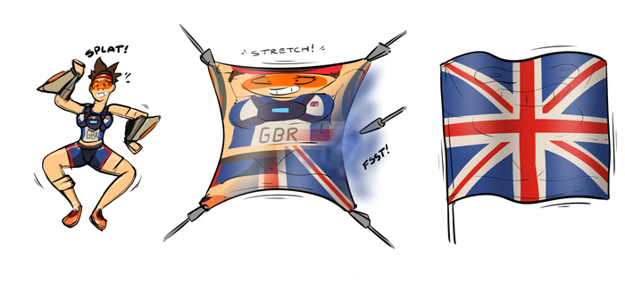 Tracer Patriotic Transformation by Redflare500