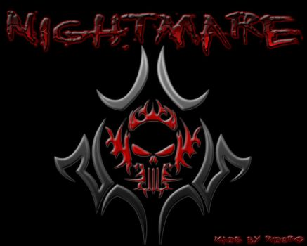 Nightmare text effect by teor2